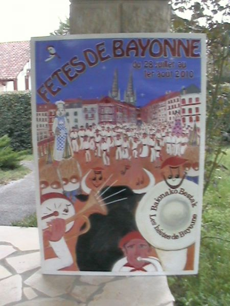 CONCOURS AFFICHE FETE DE BAYONNE 2010